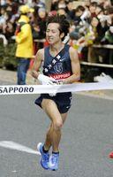 特別招待選手として10キロの部に出場する東洋大の小笹椋選手(3日の箱根駅伝から)