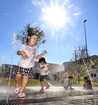 過去最も暑い7月中旬