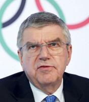IOCのバッハ会長(ロイター=共同)
