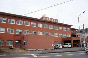 社団法人「巨樹の会」に経営移譲が検討された旧大町町立病院=大町町