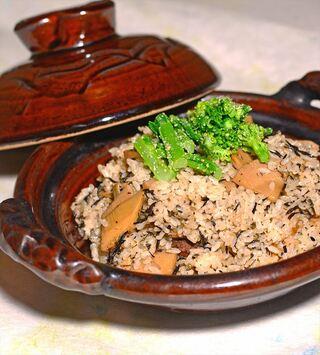 レシピ「新竹の子と梅ひじきの炊き込み御飯の素(もと)」