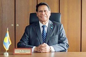 フランシス・マツタロウ駐日パラオ共和国大使(提供)
