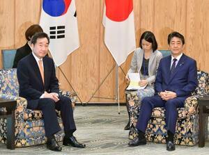 日韓、徴用工問題で平行線 安倍首相「国の約束順守を」|全国の ...