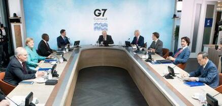 G7、インフラ新構想で合意
