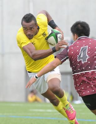 副島選手(佐賀市)リオ五輪へ ラグビー7人制男子
