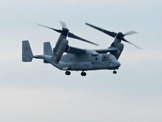 <オスプレイ配備計画>木更津での試験飛行は9月ごろ