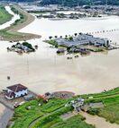 <佐賀豪雨>県内豪雨被害額198億円 県集計、商工関係は…