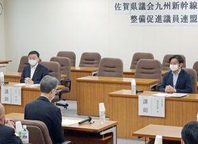〈新幹線長崎ルート〉県議会の新幹…