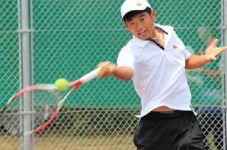 早稲田佐賀・男子テニス 応援バネに県初V