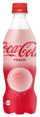 アンテナ・新製品 世界初、桃の香りのコカ・コーラ