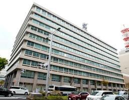 名古屋市の中部電力本店と中部電力ミライズ本店=13日午後