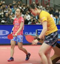 卓球、早田が女子単初優勝で2冠