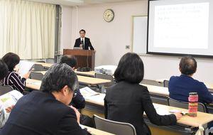 国際的な食品衛生管理基準への対応について専門家が助言したセミナー=佐賀市の同センター