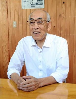 まちの仕掛け人 太良町森林組合組合長の村井さん