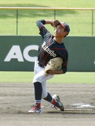 <NTT西日本杯佐賀県少年野球大会>北川副少年接戦制す