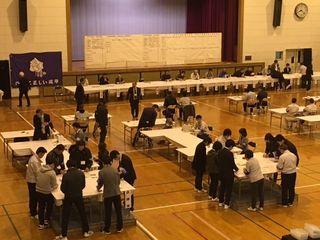 有田町長選の投票率は72.84%