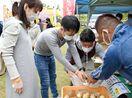 地元の食材集め若手農業者が市場 江北町