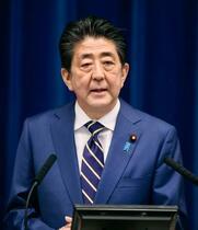 首相、56兆円超の経済対策指示