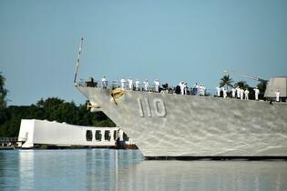 真珠湾攻撃78年、犠牲者悼む