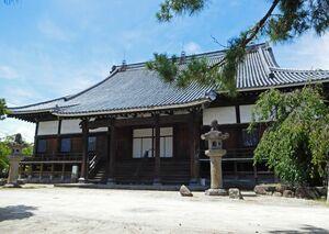 九州有数の規模を誇る願正寺の本堂=佐賀市