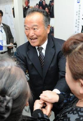 =県議選= 多久市 「再戦」野田さん雪辱