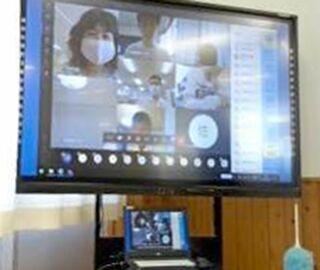 <高校生記者>オンライン授業を体験  新たな挑戦、成長を実感