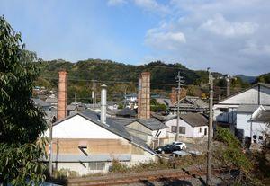 日本の20世紀遺産20選に選ばれた有田の風景。歴史や文化を生かした地域活性化が期待される