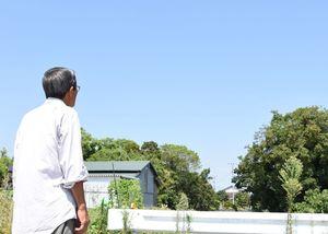 ヘリ事故から半年。嘉納地区の上空には、いまでも自衛隊ヘリは飛んでいない=神埼市千代田町