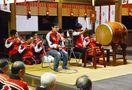 唐津神社で囃子奉納 安全祈り「初くんち」