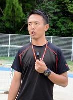 体育教師として新たなスタートを切った副島浩史さん。指導者として甲子園に出場することが夢だ。=三養基郡みやき町の中原特別支援学校