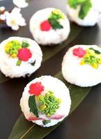 鯛(タイ)の昆布じめ★てまり寿司(すし)