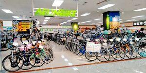 県内に初出店する「イオンバイク」