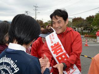 「あと一歩」声張り上げ 県内小選挙区立候補者