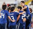 サッカー日本、1位で決勝Tへ