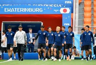 W杯、日本がセネガルと対戦へ