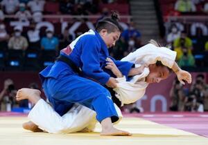 柔道、渡名喜風南が第1号メダル