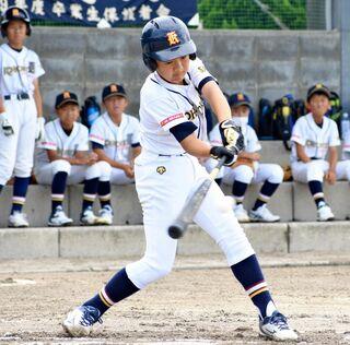 <NTT西日本杯少年野球>江北少年、中盤突き放す 江北少年6-1三田川少年