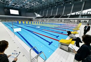 国際公認50メートルプール、SA…
