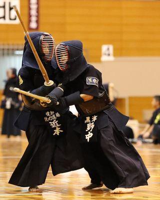 準決勝リード守れず涙 黒津少剣A悔しい3位