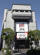 東証大幅反落、終値は441円安