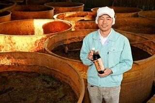 伝統や文化を次世代に 丸秀醤油(佐賀市)秀島健介社長(40歳)