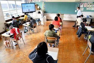 佐賀県学習状況調査に約3万6千人…