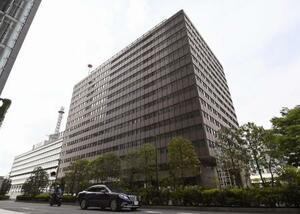 新型コロナウイルスワクチンの大規模接種センターが設置される「大手町合同庁舎3号館」=東京都千代田区