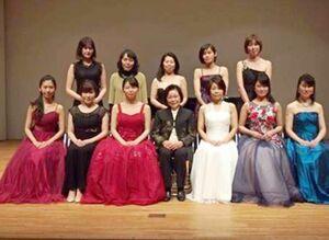 昨年3月に開かれた県音楽協会会員演奏会の様子(提供写真)