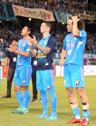 サガン、磐田と0-0