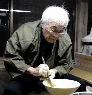 村島昭文さん(81)=有田町 手作りの品格目指す