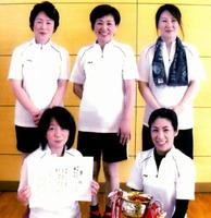 平成28年度循誘校区女子ミニバレーボール大会 優勝の高木町