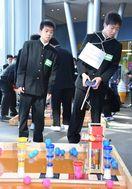 佐賀のニュース 県中学校ロボコン 致遠館チーム独占