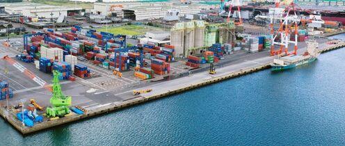 伊万里港のクレーン更新へ 老朽化…
