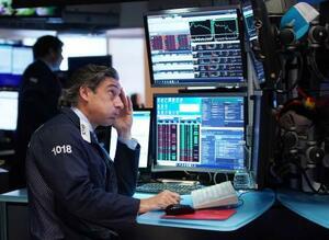 ニューヨーク証券取引所(UPI=共同)